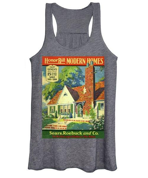 Honor Bilt Modern Homes Sears Roebuck And Co 1930 Women's Tank Top