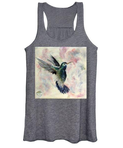 Hummingbird Flight Women's Tank Top