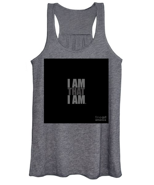 I Am That I Am Women's Tank Top