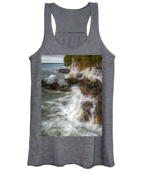 Ice And Waves Women's Tank Top