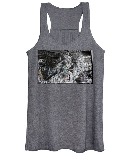Immersed And Flawed By Cash Flow Women's Tank Top