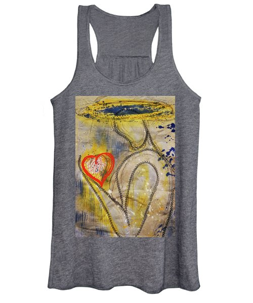 In The Golden Age Of Love And Lies Women's Tank Top