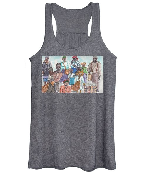 It's Cotton Picking Time At The Spangler Farm In South Alabama Women's Tank Top