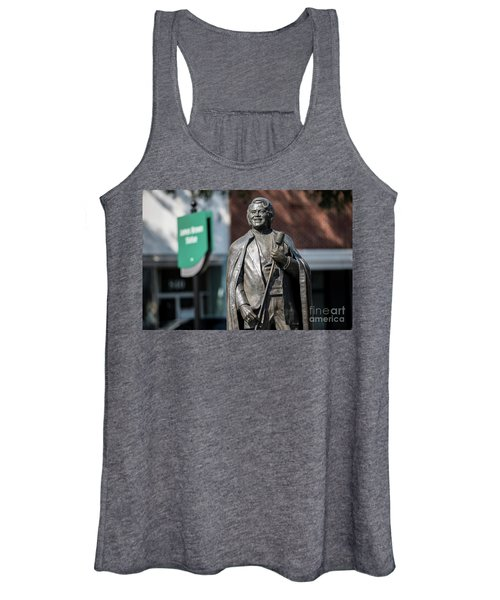 James Brown Statue - Augusta Ga Women's Tank Top