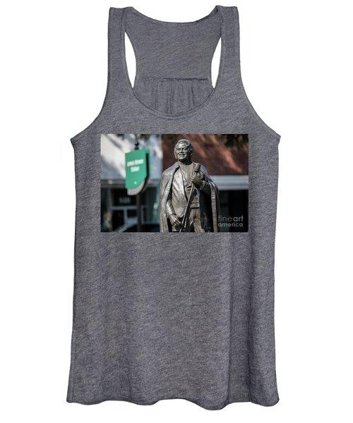 James Brown Statue - Augusta Ga Women's Tank Top
