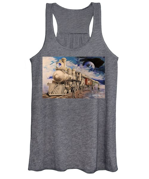 Journey Through The Mists Of Time Women's Tank Top