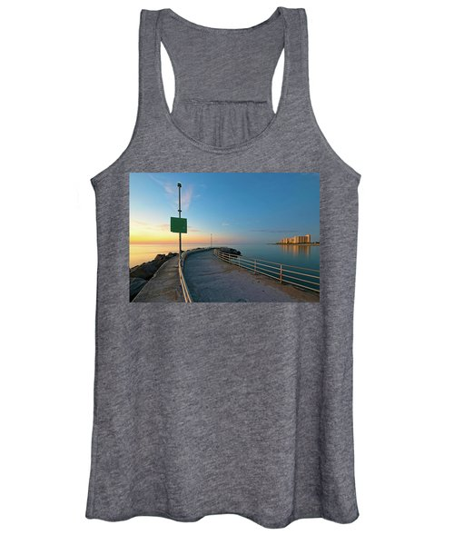Jupiter Inlet Jetty Looking South Women's Tank Top