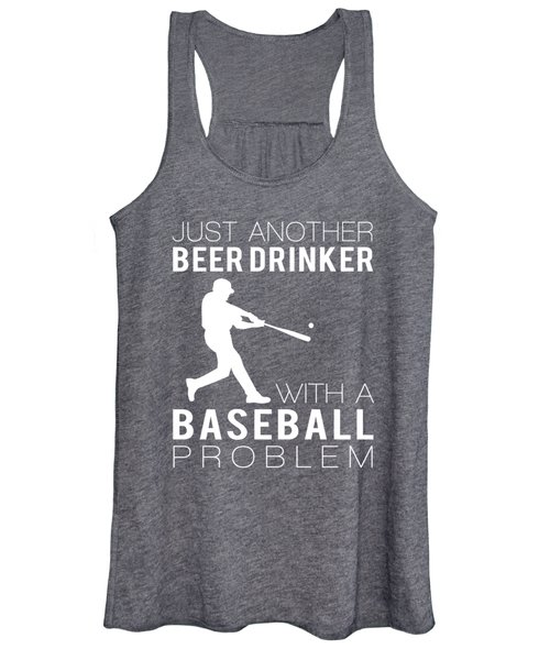 Just Another Beer Dinker With A Baseball Problem Tee Women's Tank Top