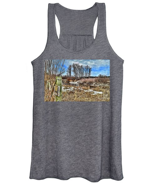Keep Out Women's Tank Top