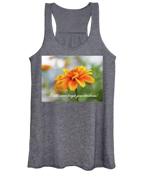 Kindness Women's Tank Top