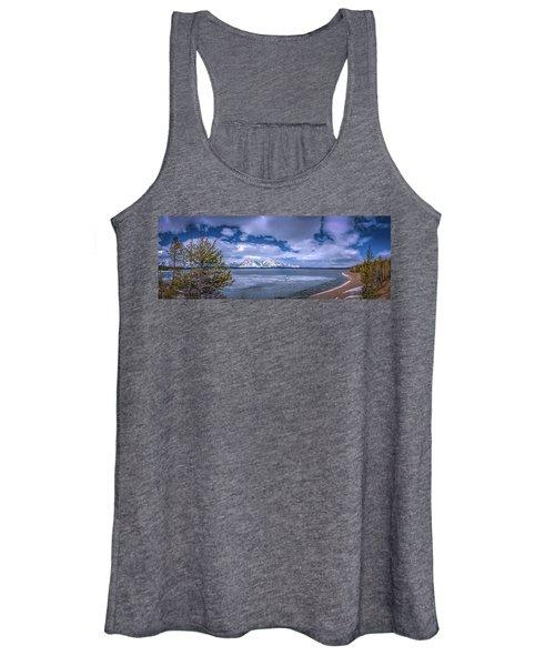 Lake Jackson Wyoming Women's Tank Top