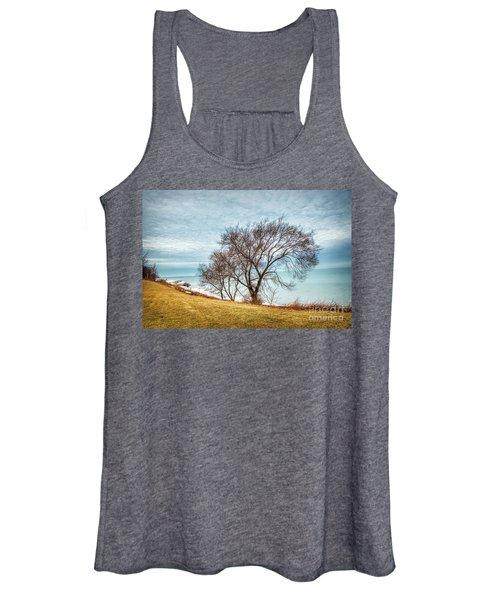 Lakeshore Lonely Tree Women's Tank Top