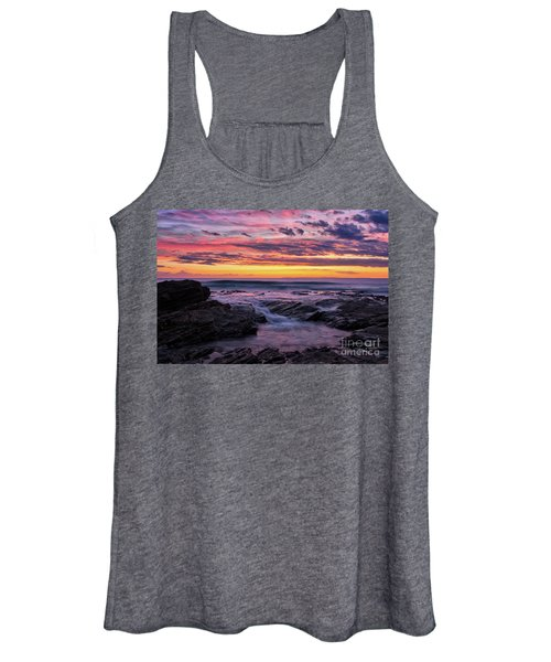 Last Sunset Of 2018 Women's Tank Top