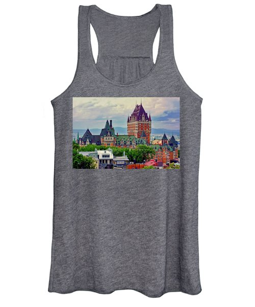 Le Chateau Frontenac Women's Tank Top