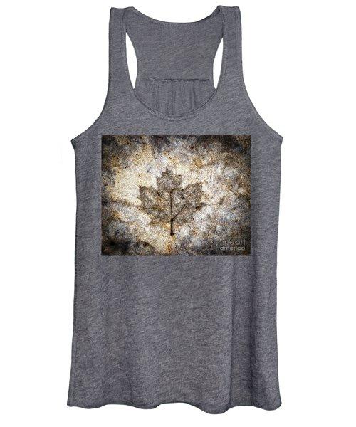 Leaf Imprint Women's Tank Top