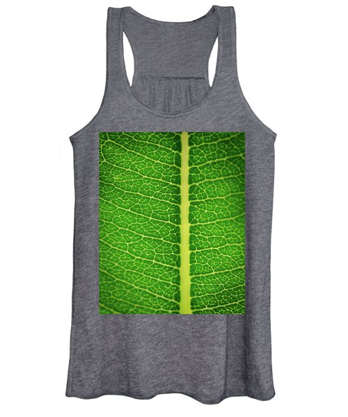 Leafy Detail Women's Tank Top