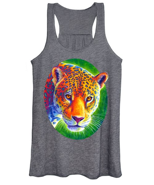 Light In The Rainforest - Jaguar Women's Tank Top