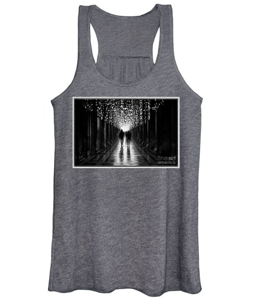 Light, Shadows And Symmetry Women's Tank Top