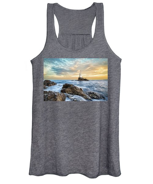 Lighthouse In Ahtopol, Bulgaria Women's Tank Top