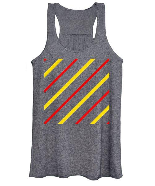 Line Or Stripe Design In A Modern Look - Dde578 Women's Tank Top