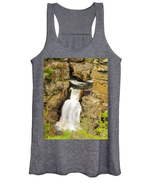 Linville Falls - Closeup Women's Tank Top