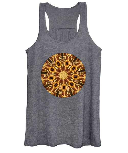 Lost In The Rhythm - Transparent Women's Tank Top