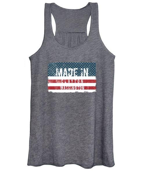 Made In Clayton, Washington Women's Tank Top