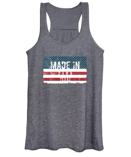 Made In Dawn, Texas Women's Tank Top