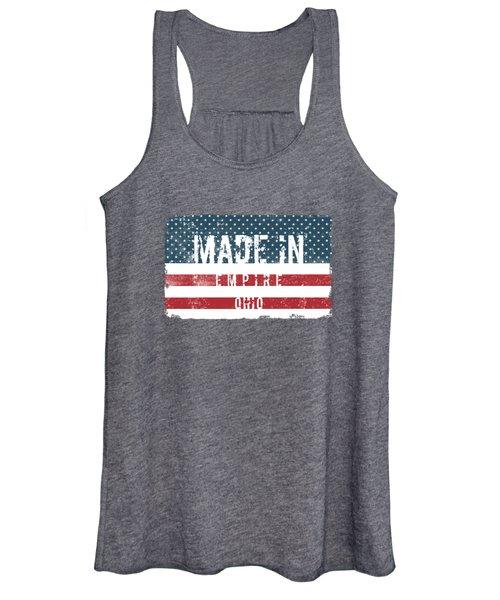 Made In Empire, Ohio Women's Tank Top