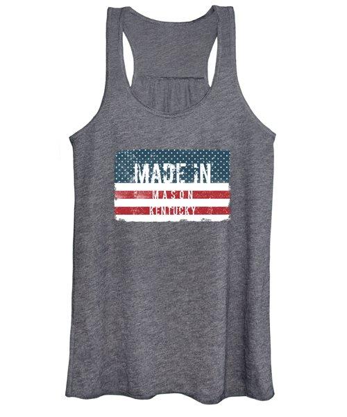 Made In Mason, Kentucky Women's Tank Top