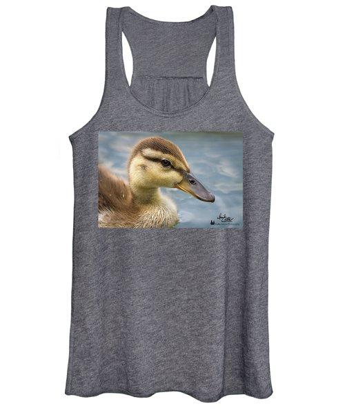 Mallard Duckling Women's Tank Top