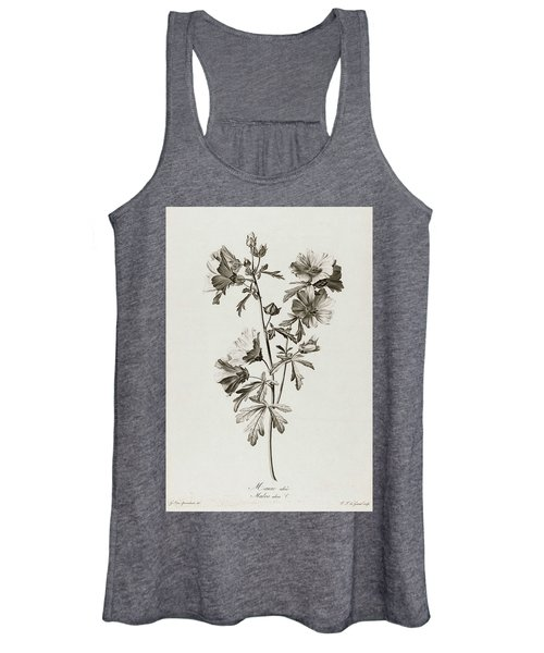 Malva Alcea, 1801 Women's Tank Top