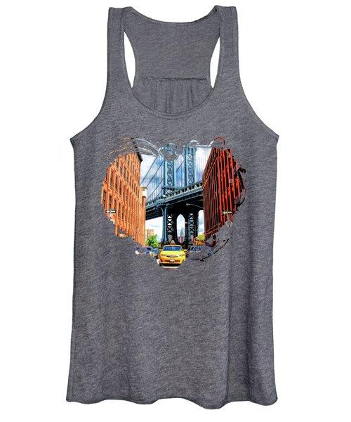 Manhattan Bridge New York City Women's Tank Top