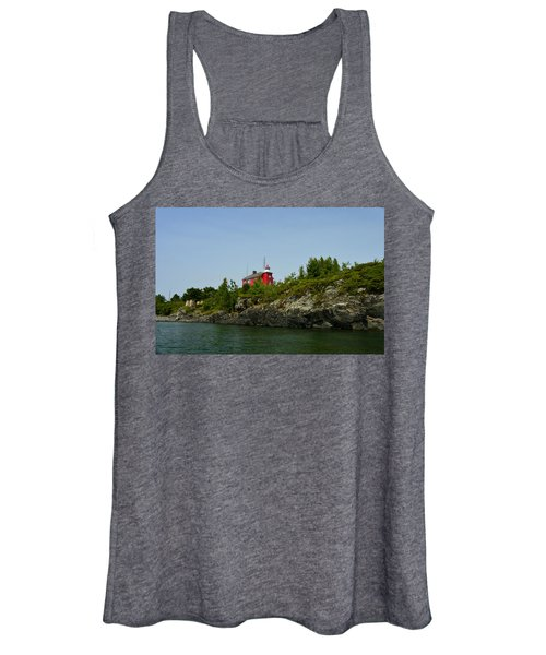 Marquette Michigan Lighthouse Women's Tank Top