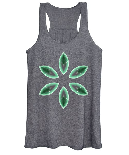 Marquise Floral 2 Women's Tank Top