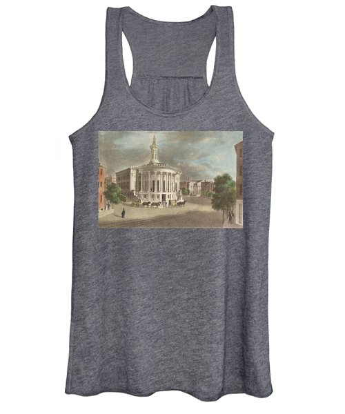 Merchants Exchange, 1838 Women's Tank Top