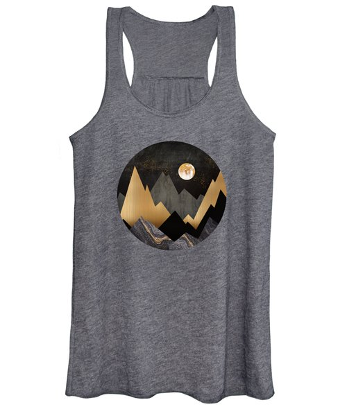 Metallic Night Women's Tank Top