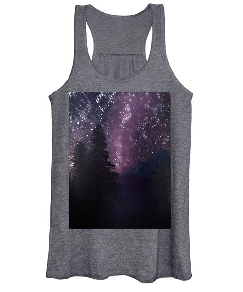 Milky Way Lake Women's Tank Top