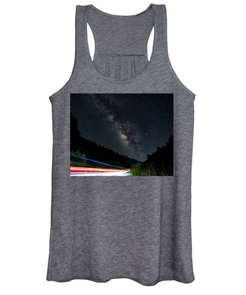 Milky Way Over The South Road Women's Tank Top