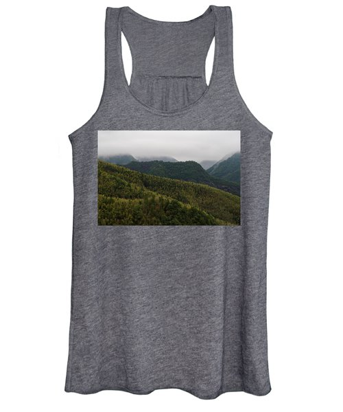 Misty Mountains I Women's Tank Top