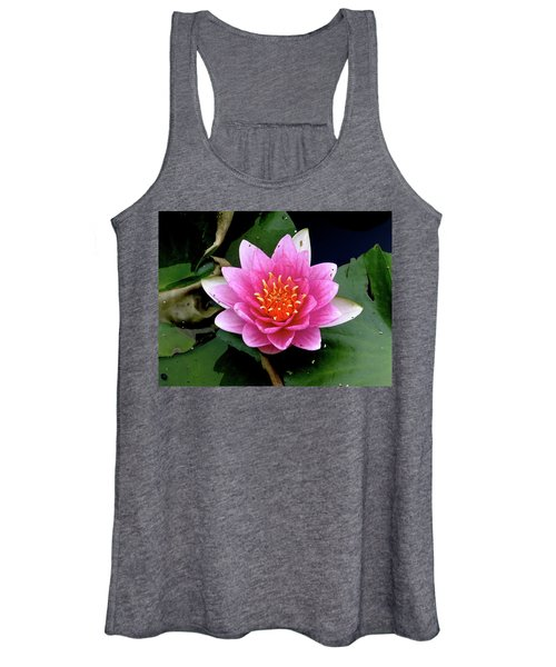 Monet Water Lilly Women's Tank Top