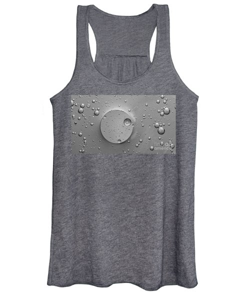 Monochrome Abstract Women's Tank Top