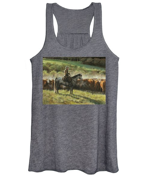 Morning In The Highwoods Women's Tank Top