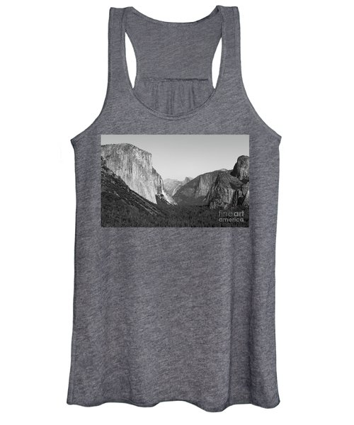 Nature At Its Best - Black-white Women's Tank Top