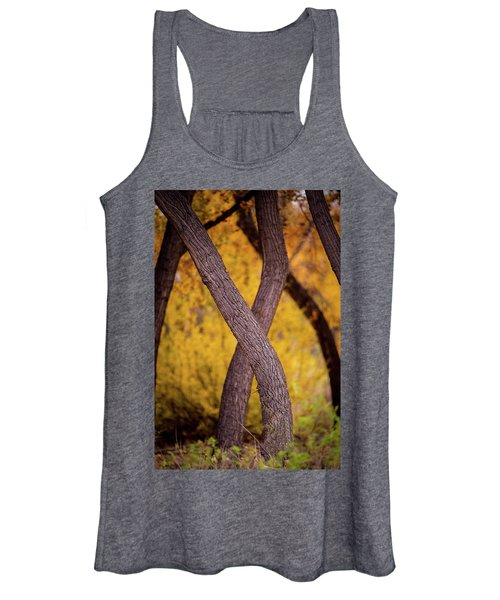 Nature's Font Women's Tank Top