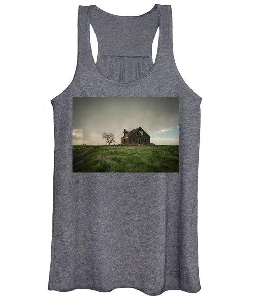 Nebraska Farm House Women's Tank Top
