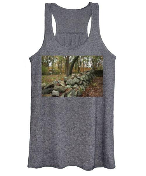 New England Stone Wall 1 Women's Tank Top