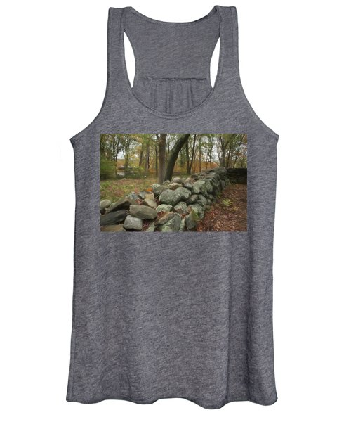 New England Stone Wall 1 Women's Tank Top