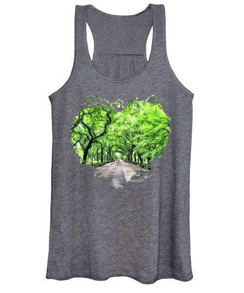 New York City Central Park Mall Women's Tank Top