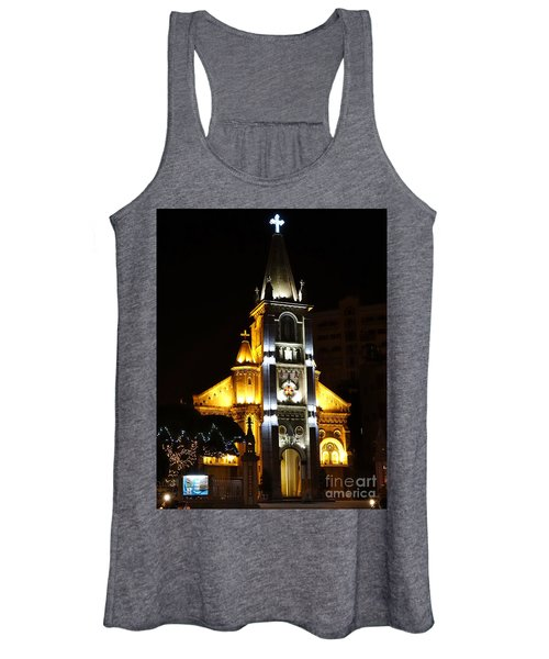 Night View Of The Holy Rosary Cathedral Women's Tank Top